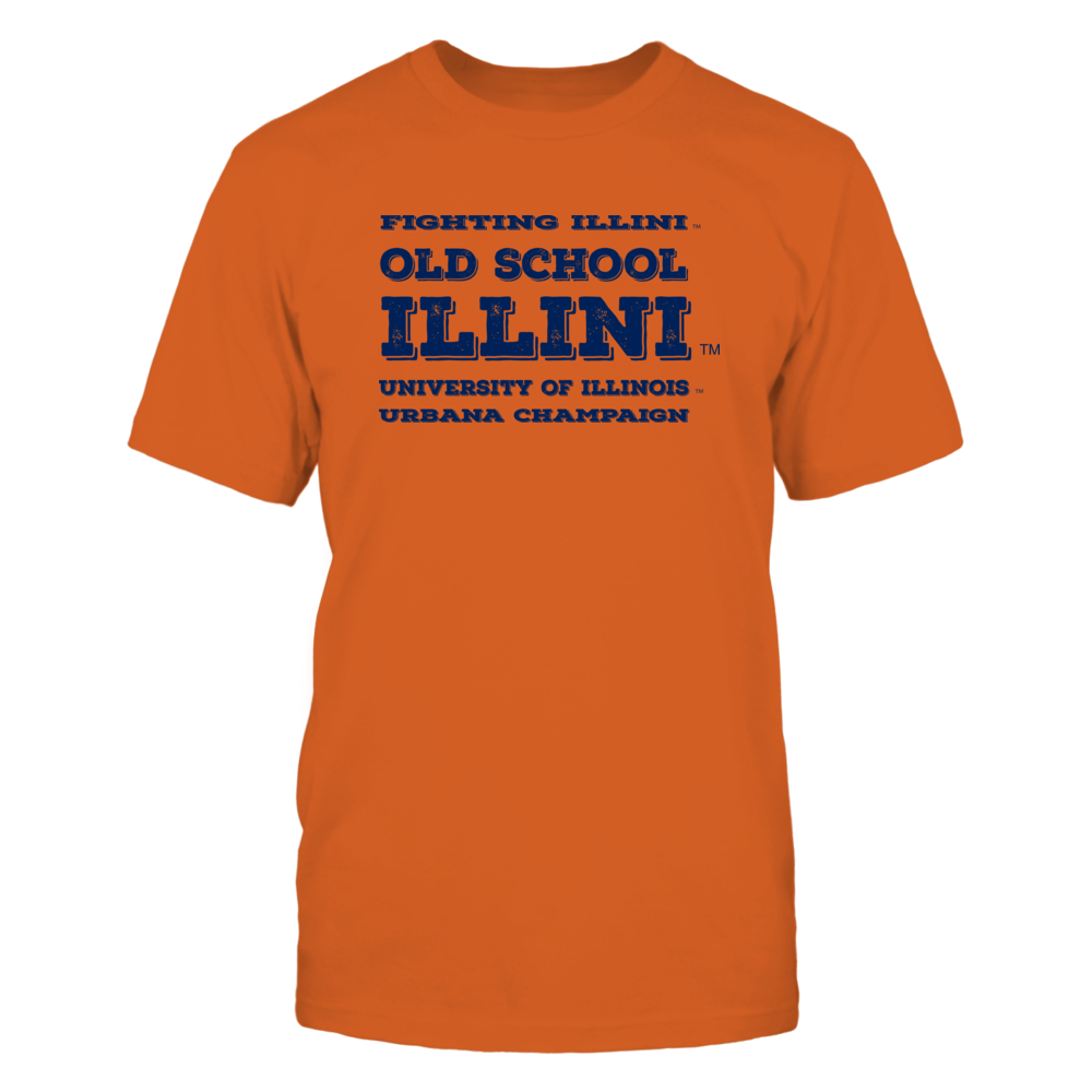 Old School Illini - light Front picture