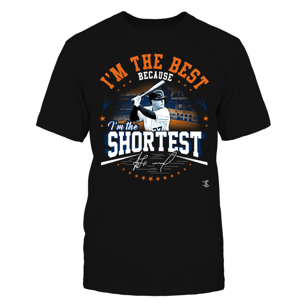 Jose Altuve - I'm The Best Because I'm The Shortest Front picture