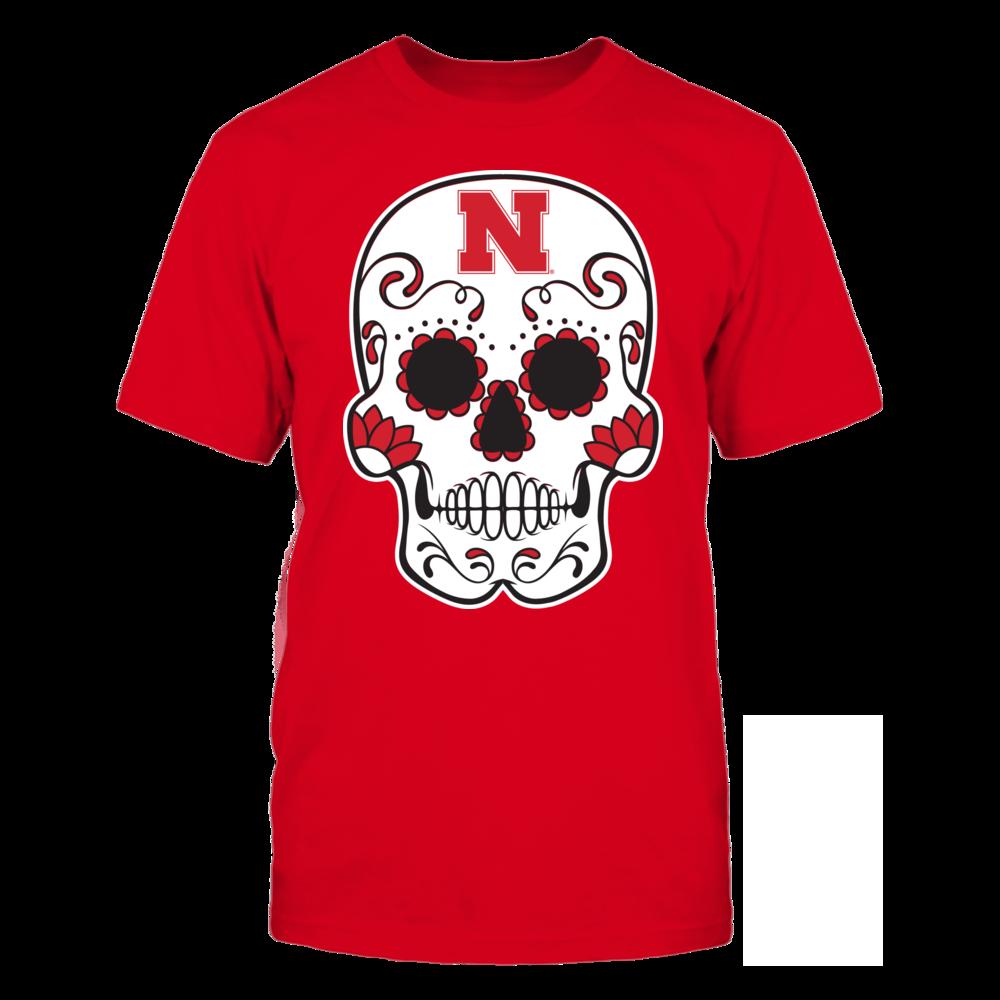 Nebraska Cornhuskers - Sugar Skull Front picture