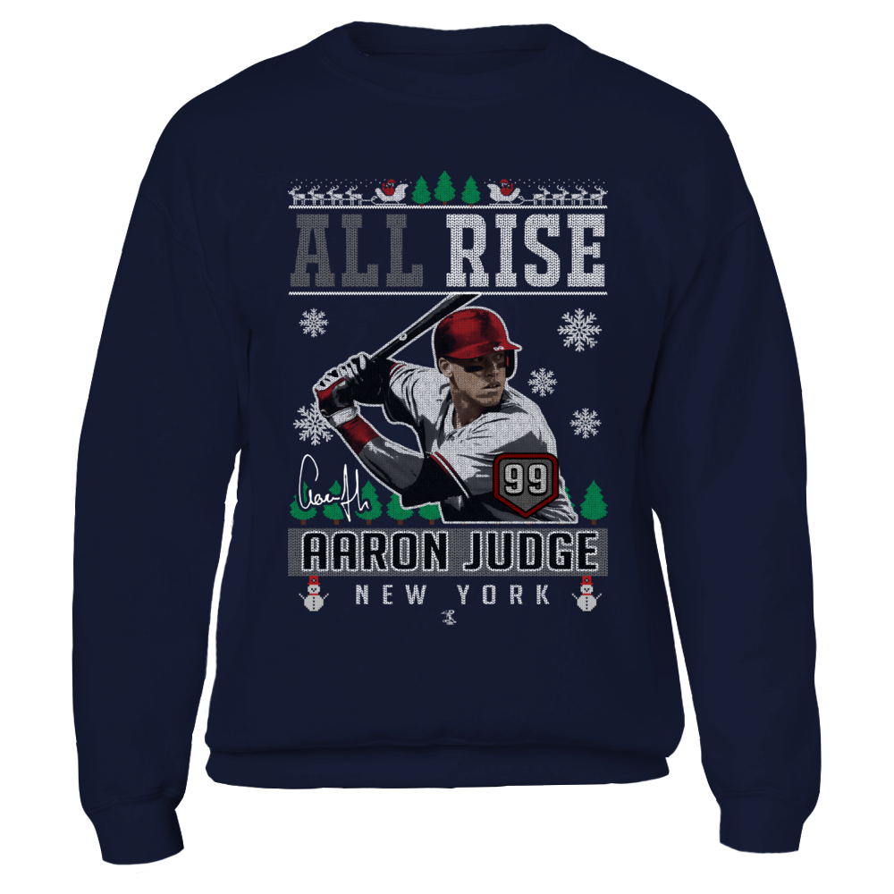 Aaron Judge - All Rise - CHRISTMAS PLAYER Front picture