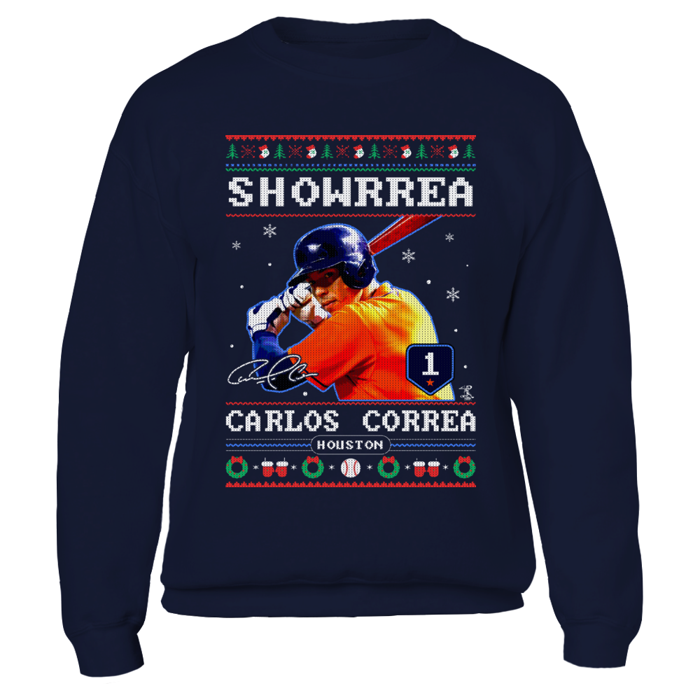 Carlos Correa - Showrrea - CHRISTMAS PLAYER Front picture