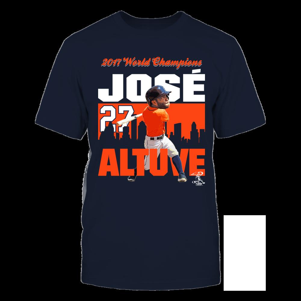 2017 World Champions - Jose Altuve Front picture
