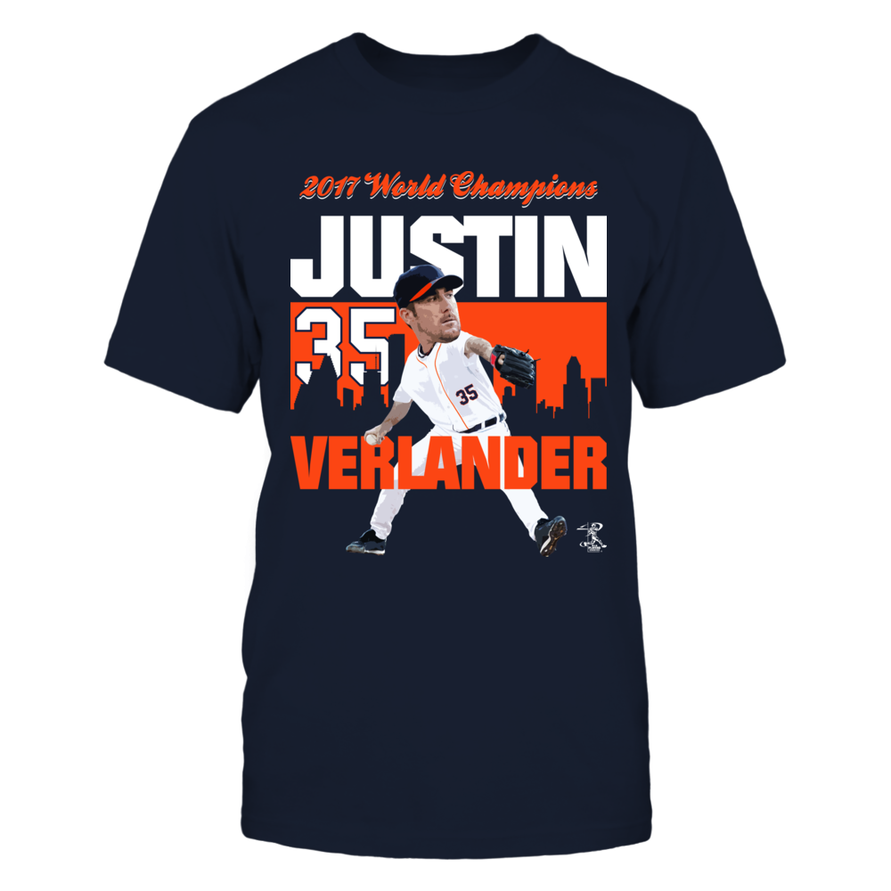 2017 World Champions - Justin Verlander Front picture