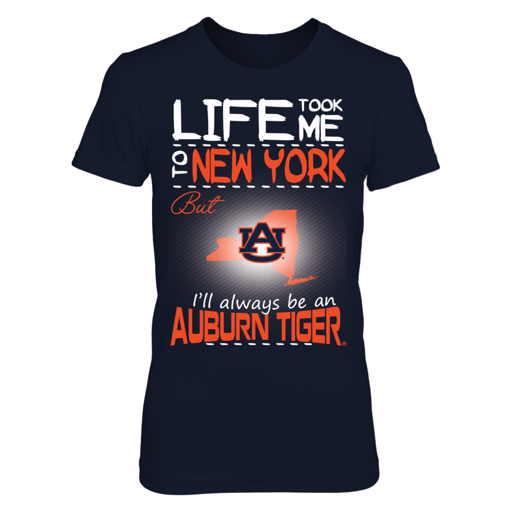Auburn Tigers - Life Took Me To New York Front picture