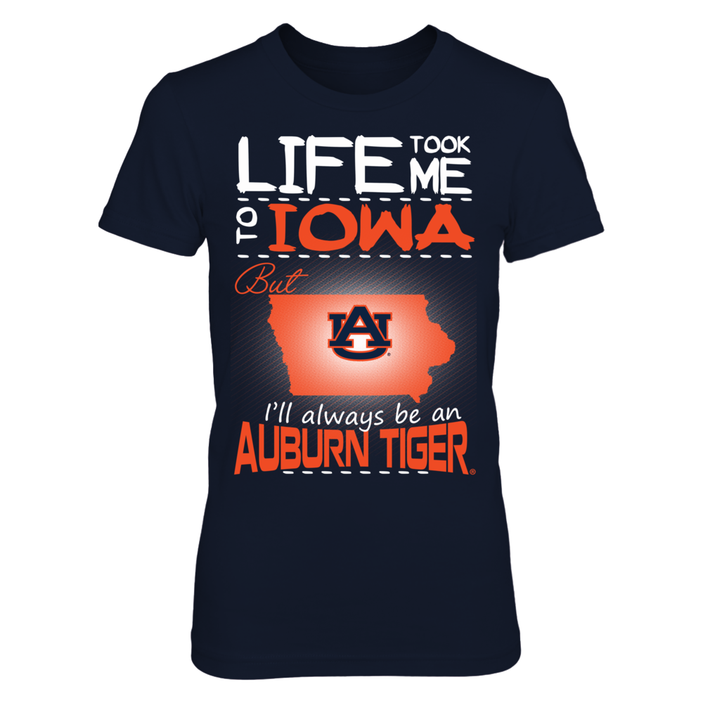 Auburn Tigers - Life Took Me To Iowa Front picture
