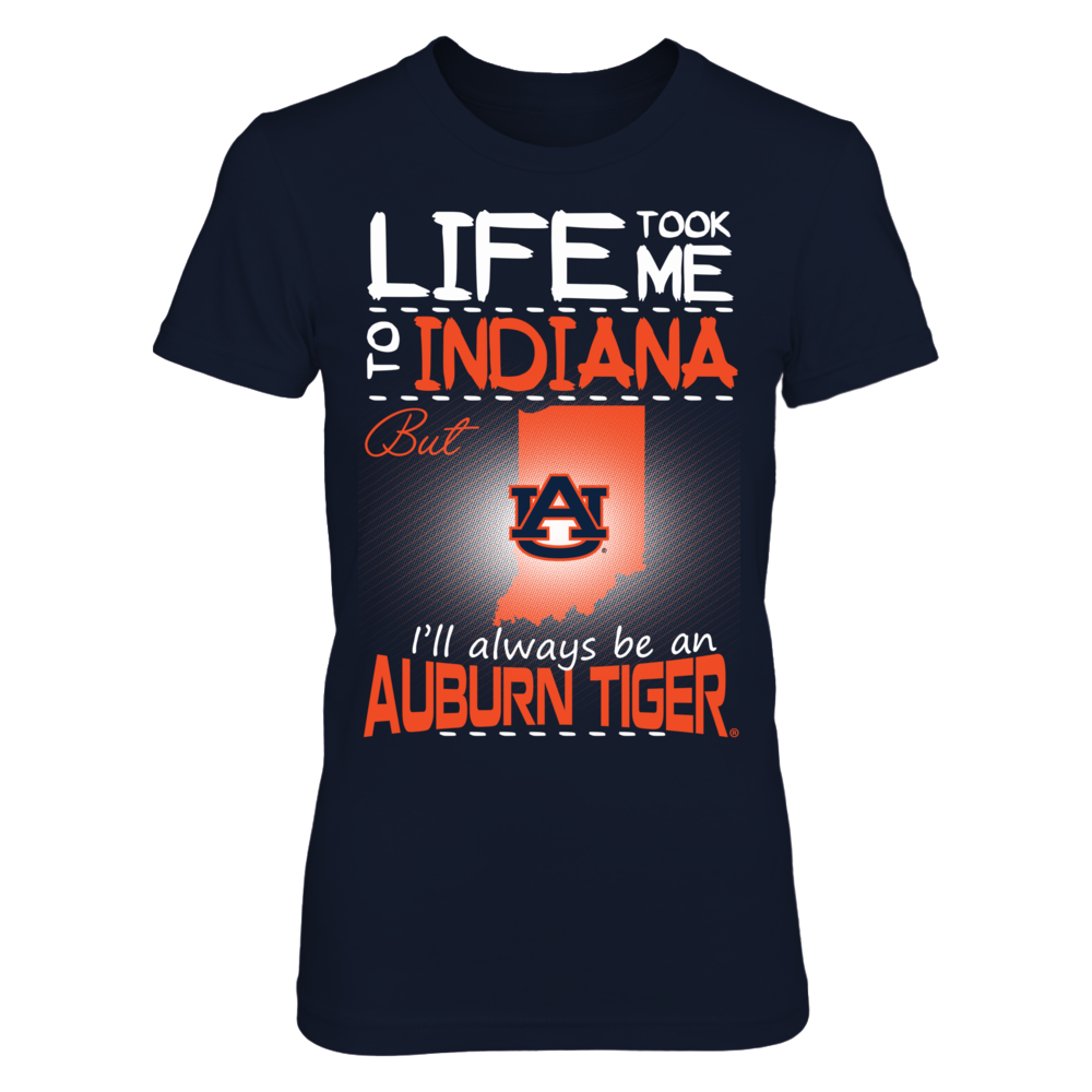 Auburn Tigers - Life Took Me To Indiana Front picture