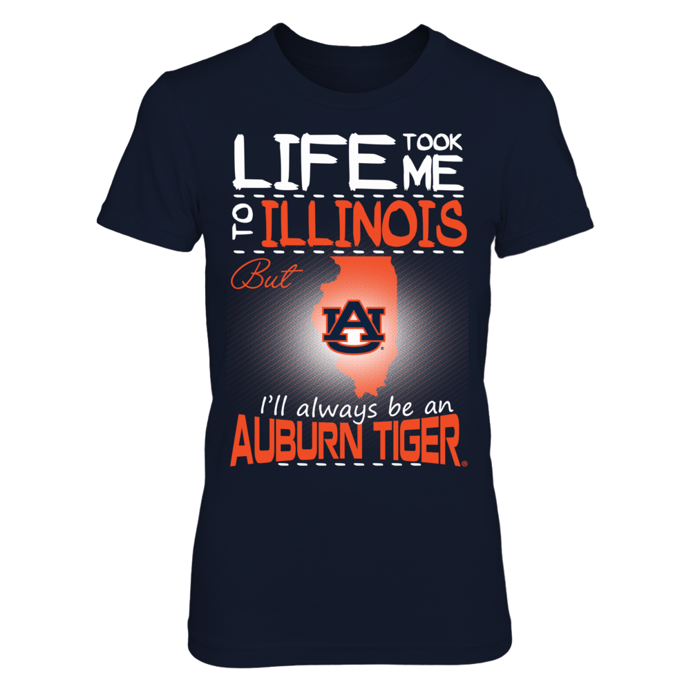 Auburn Tigers - Life Took Me To Illinois Front picture