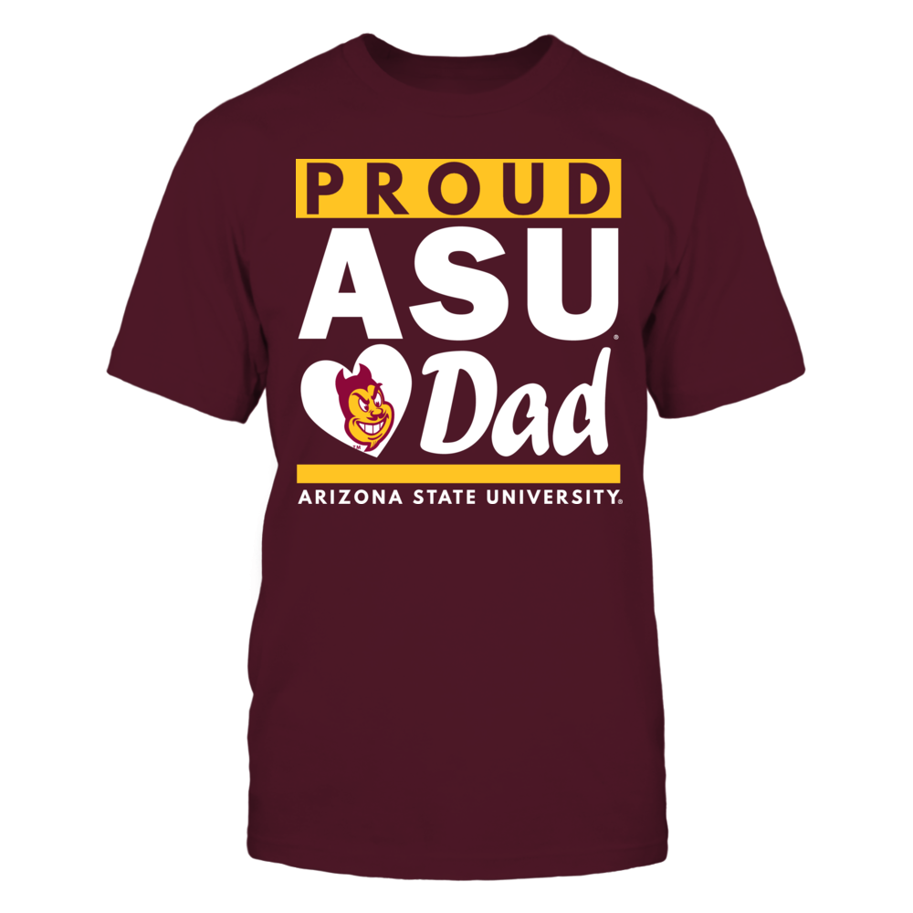 Arizona State University Proud Dad Front picture
