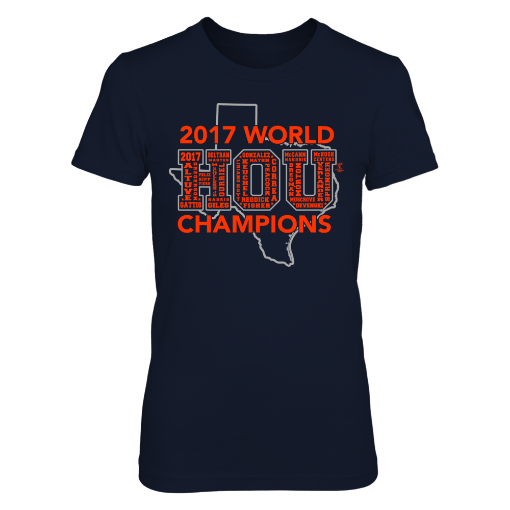 Houston 2017 World Champions Front picture