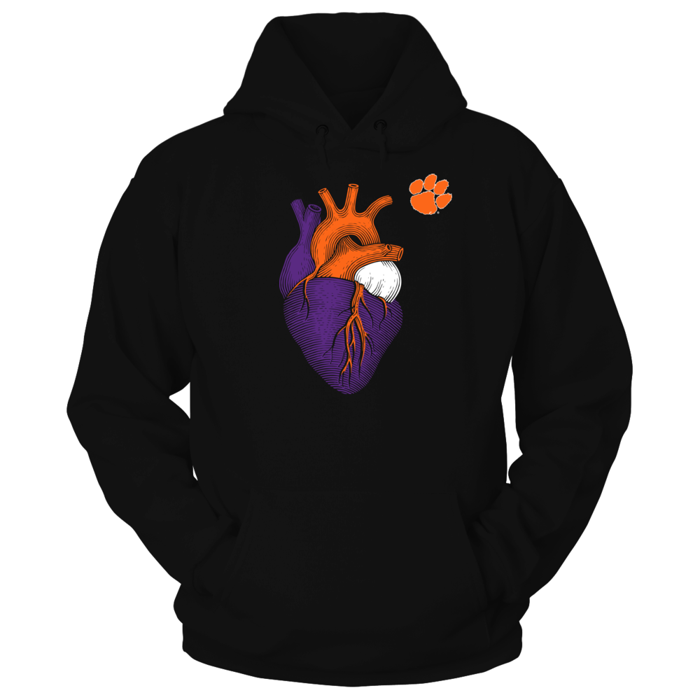 Limited Edition Clemson Tigers Hoodie Front picture