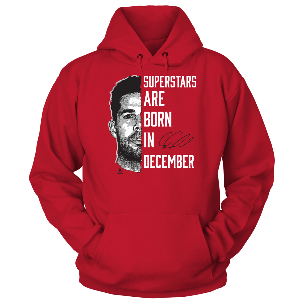 Corey Crawford - Superstars Are Born In December Front picture