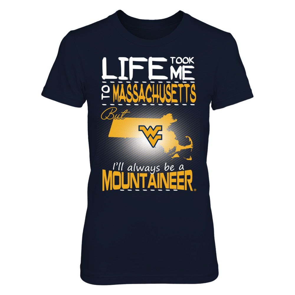West Virginia Mountaineers - Life Took Me To Massachusetts Front picture