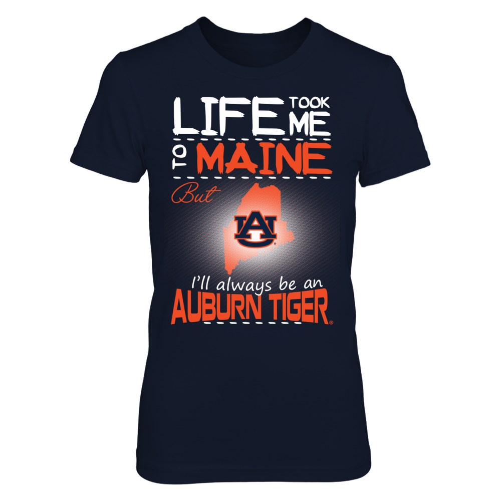 Auburn Tigers - Life Took Me To Maine Front picture