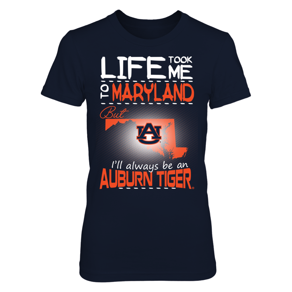 Auburn Tigers - Life Took Me To Maryland Front picture