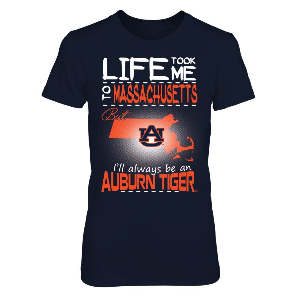 Auburn Tigers - Life Took Me To Massachusetts Front picture