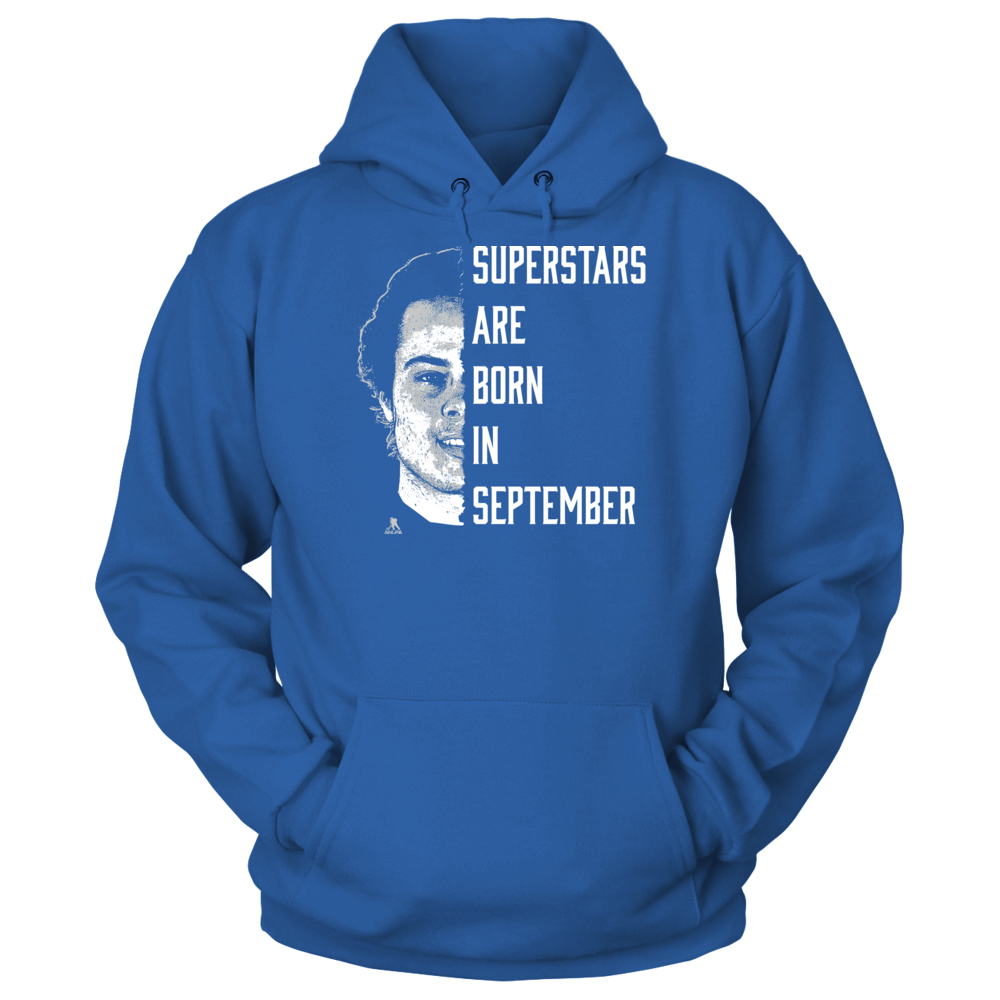 Auston Matthews - Superstars Are Born In September Front picture