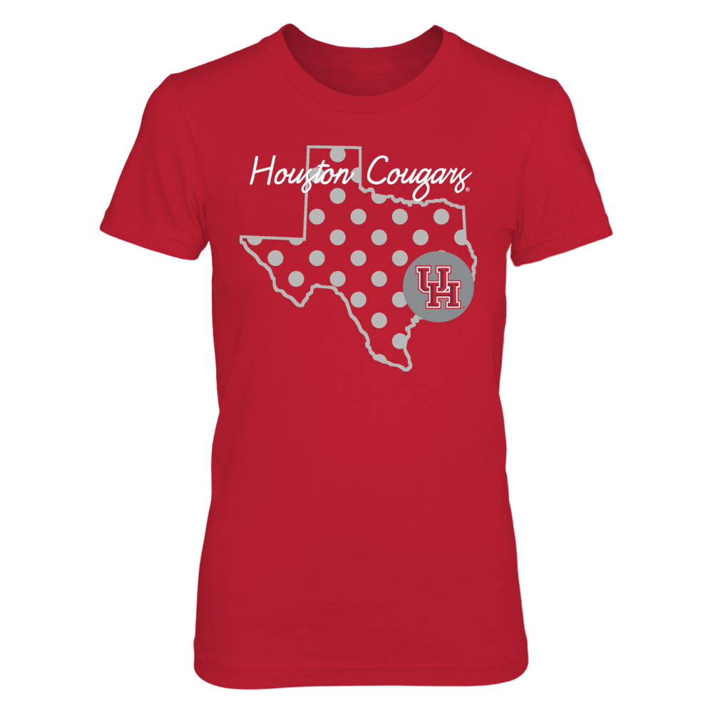 BEAUTIFUL DOTS - HOUSTON COUGARS Front picture