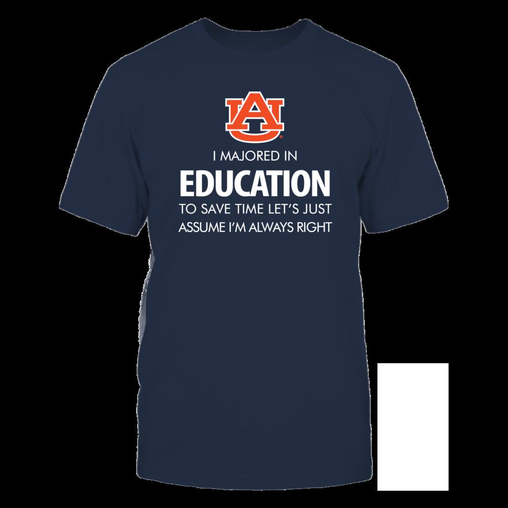 Education Major - Auburn Front picture