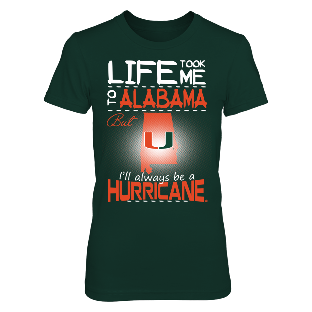Miami Hurricanes - Life Took Me To Alabama Front picture