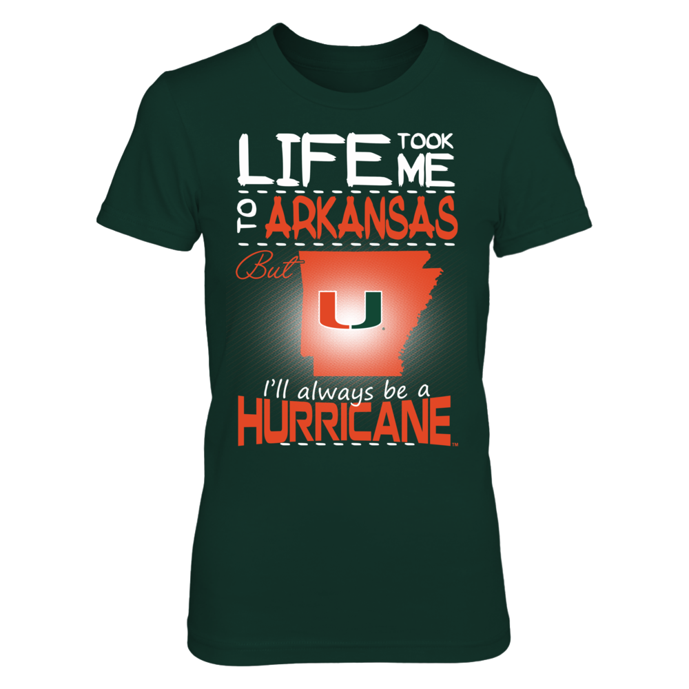 Miami Hurricanes - Life Took Me To Arkansas Front picture