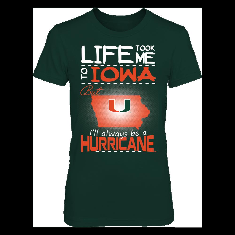 Miami Hurricanes - Life Took Me To Iowa Front picture