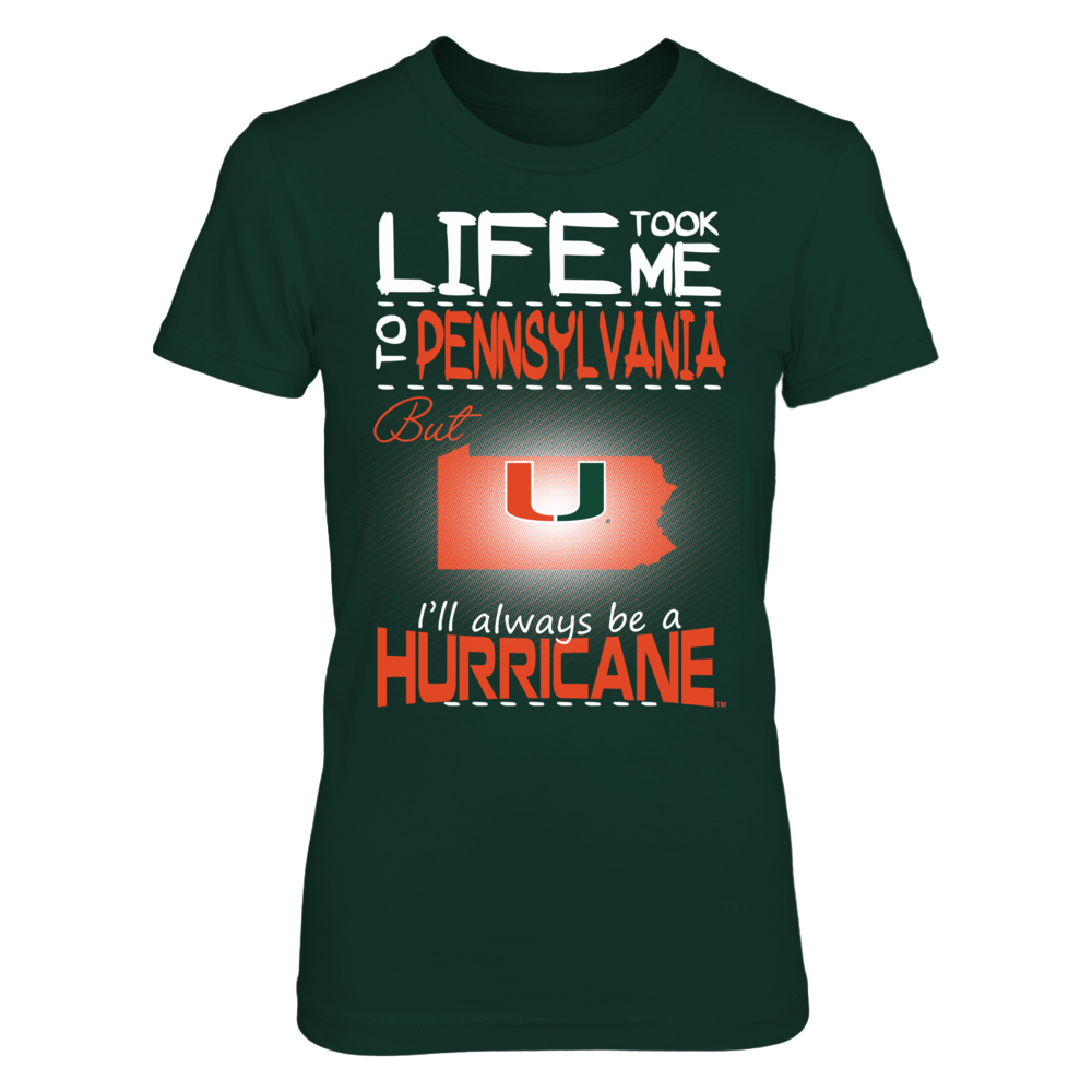Miami Hurricanes - Life Took Me To Pennsylvania Front picture