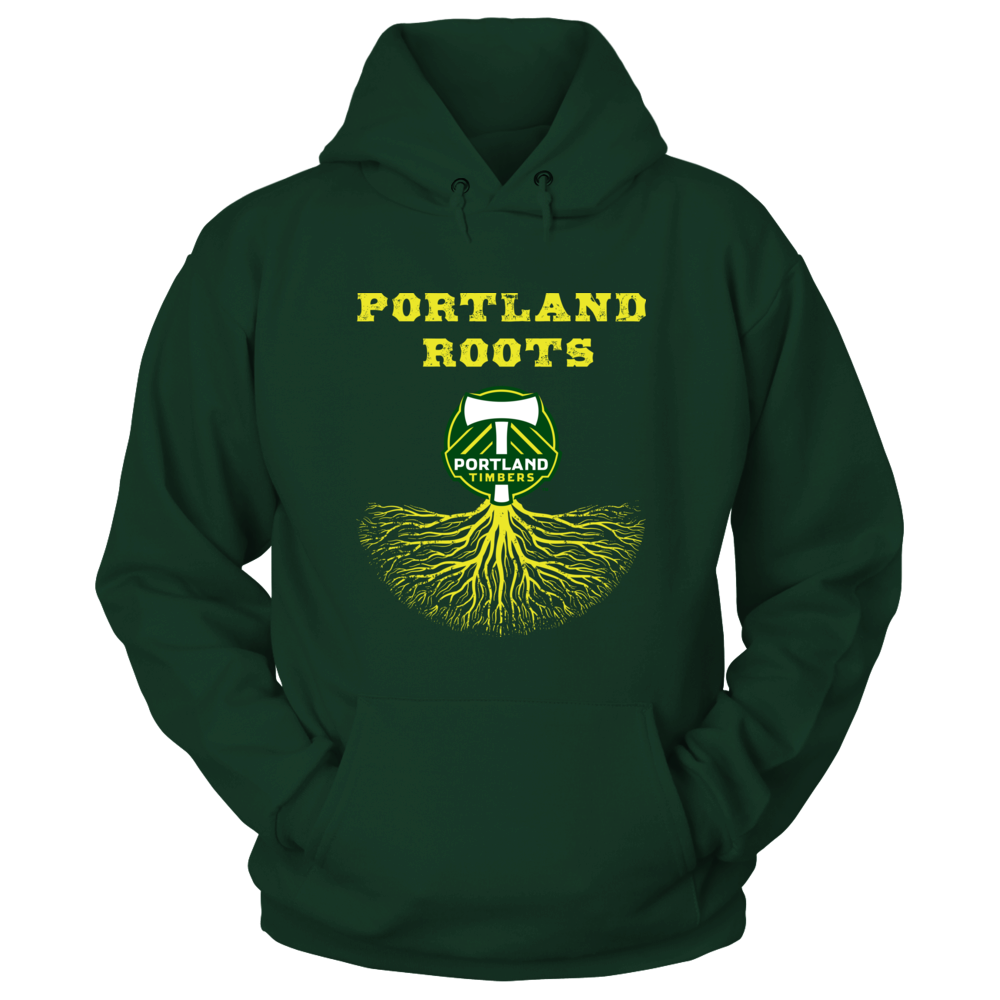 Portland Timbers Roots Official Licensed Apparel...Not In Stores! Front picture