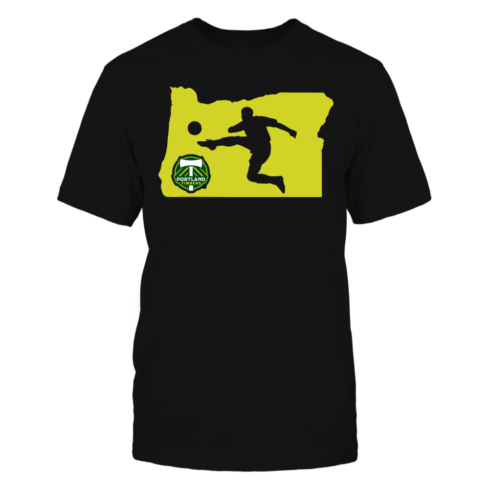 OREGON State Map - Portland Timbers Official Apparel Front picture