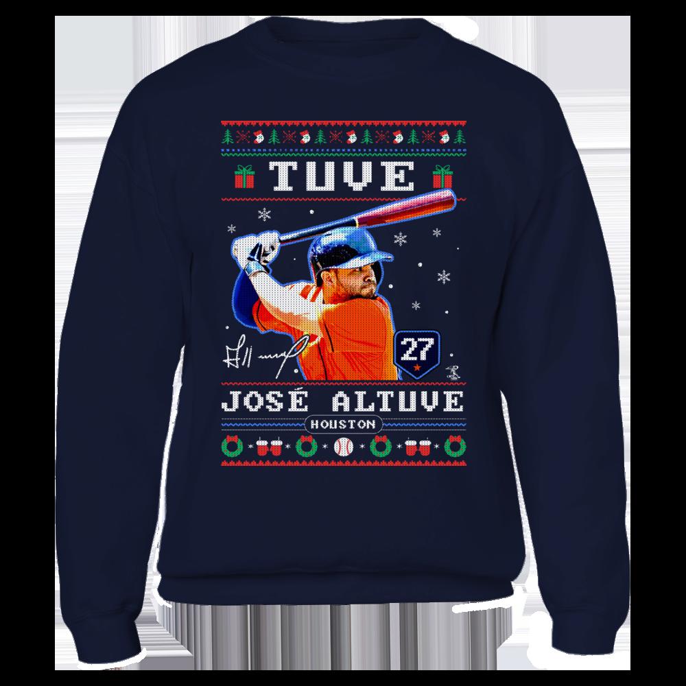 Jose Altuve - Tuve - CHRISTMAS PLAYER Front picture