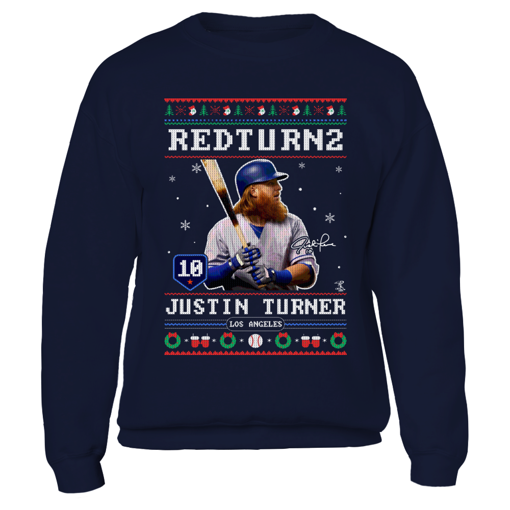 Justin Turner - Redturn2 - CHRISTMAS PLAYER Front picture