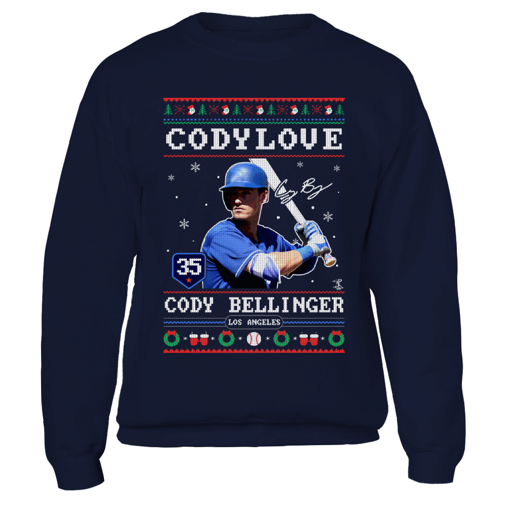 Cody Bellinger - Codylove - CHRISTMAS PLAYER Front picture