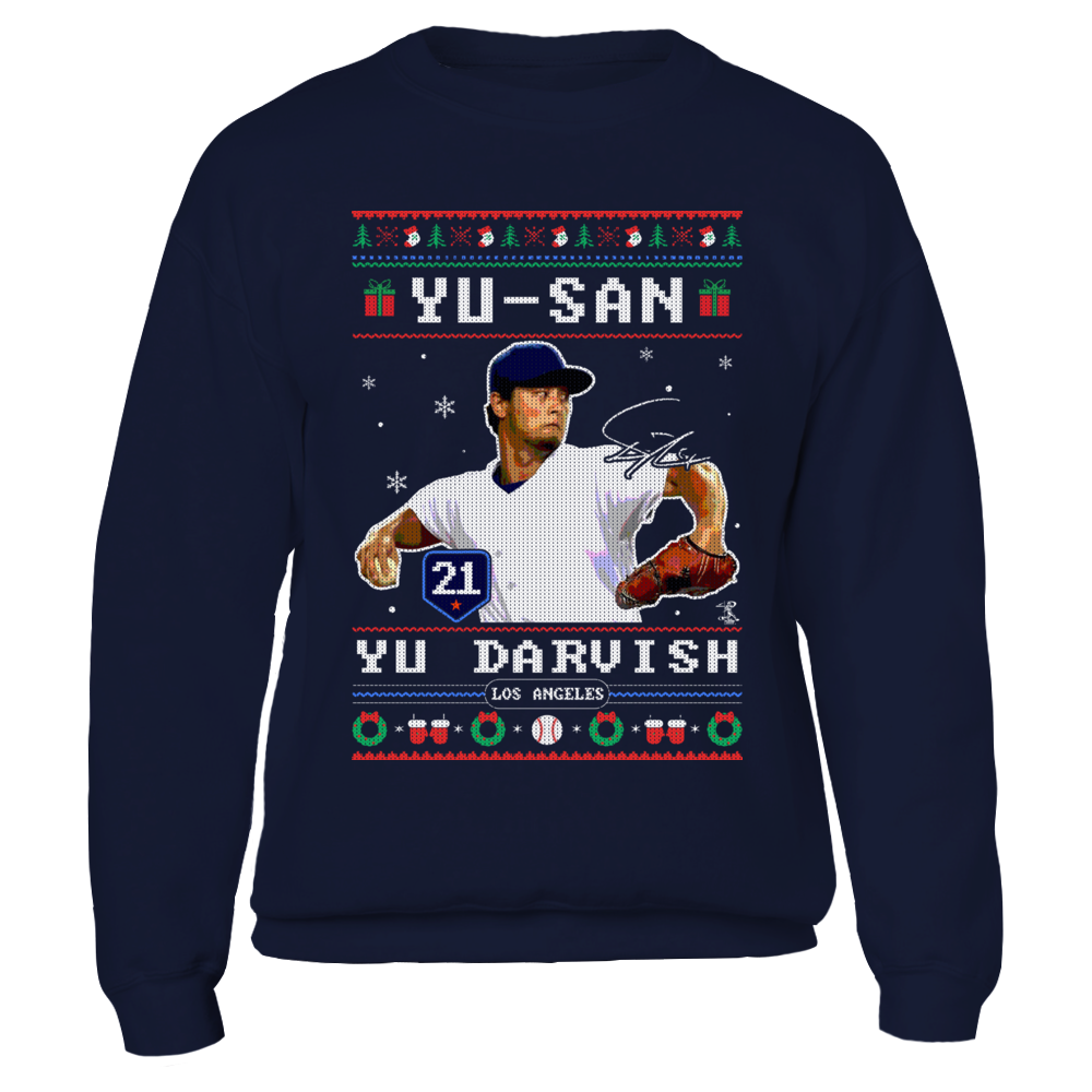 Yu Darvish - Yu-san - CHRISTMAS PLAYER Front picture