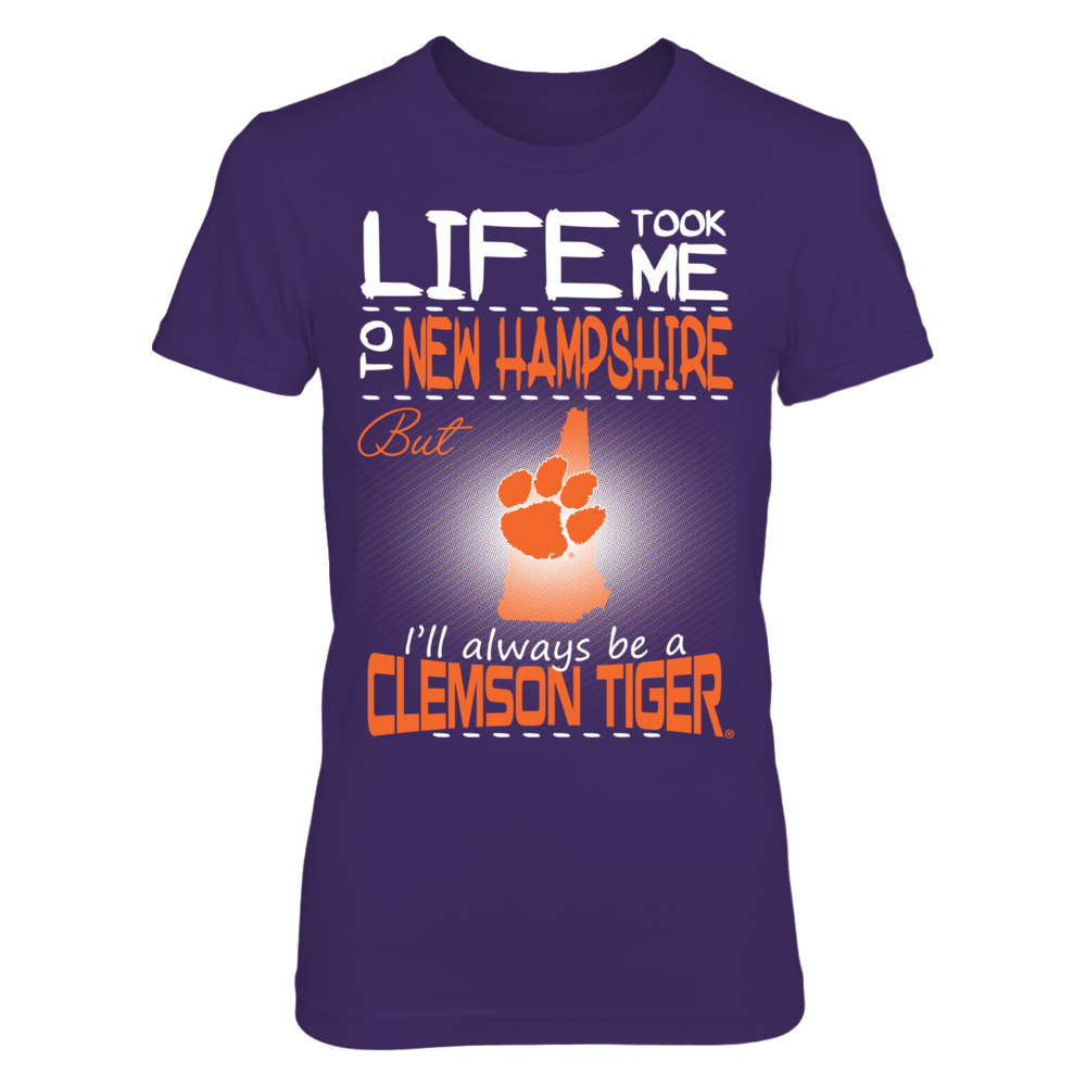 Clemson Tigers - Life Took Me To New Hampshire Front picture