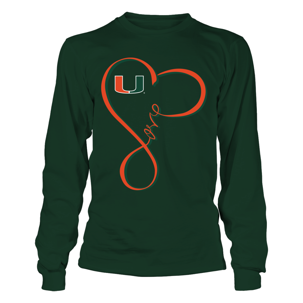Miami Hurricanes - Infinity Love Front picture