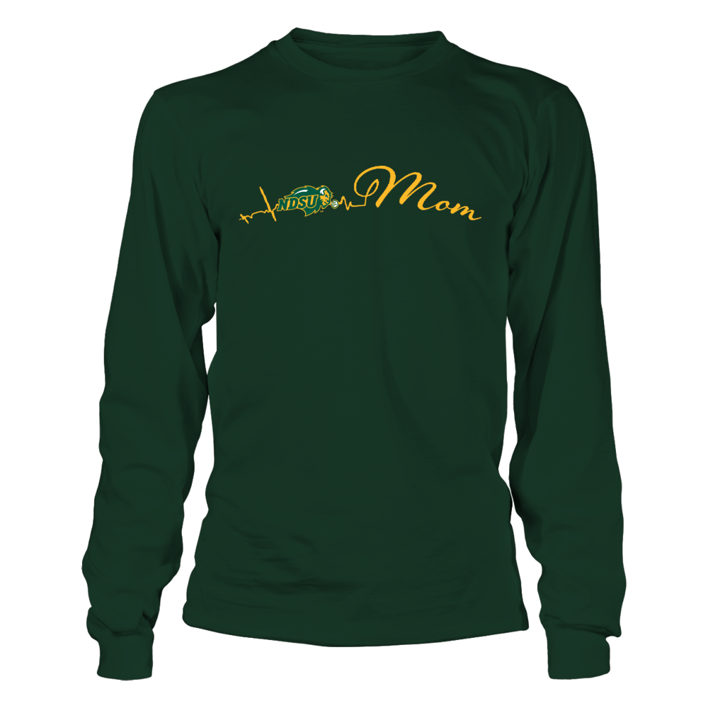 North Dakota State Bison - Mom Heartbeat Front picture