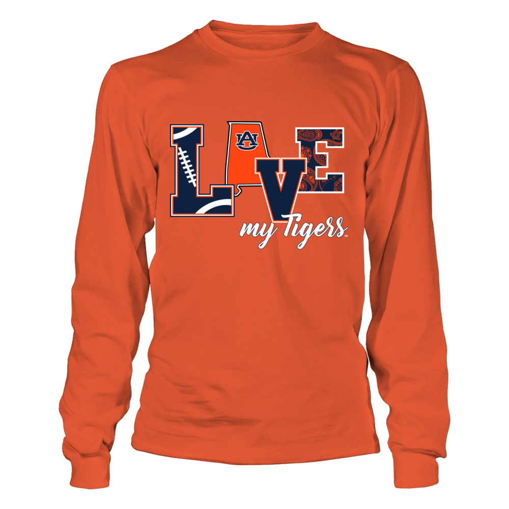 Auburn Tigers - Love My Tigers Front picture