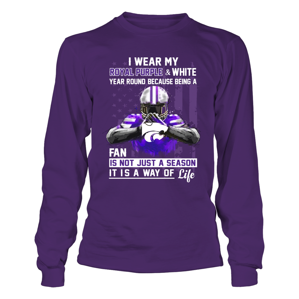 Kansas State Wildcats - Wear My Color Year Round Front picture