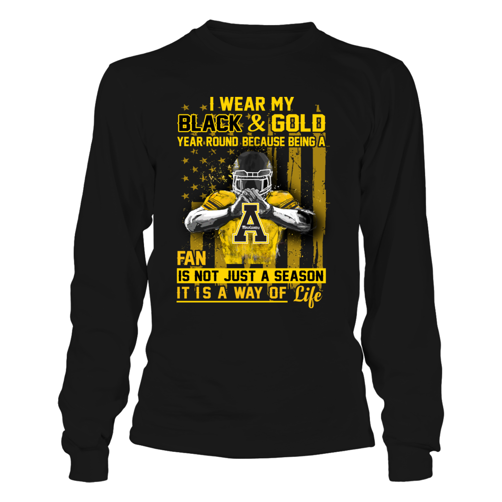 Appalachian State Mountaineers - Wear My Color Year Round Front picture