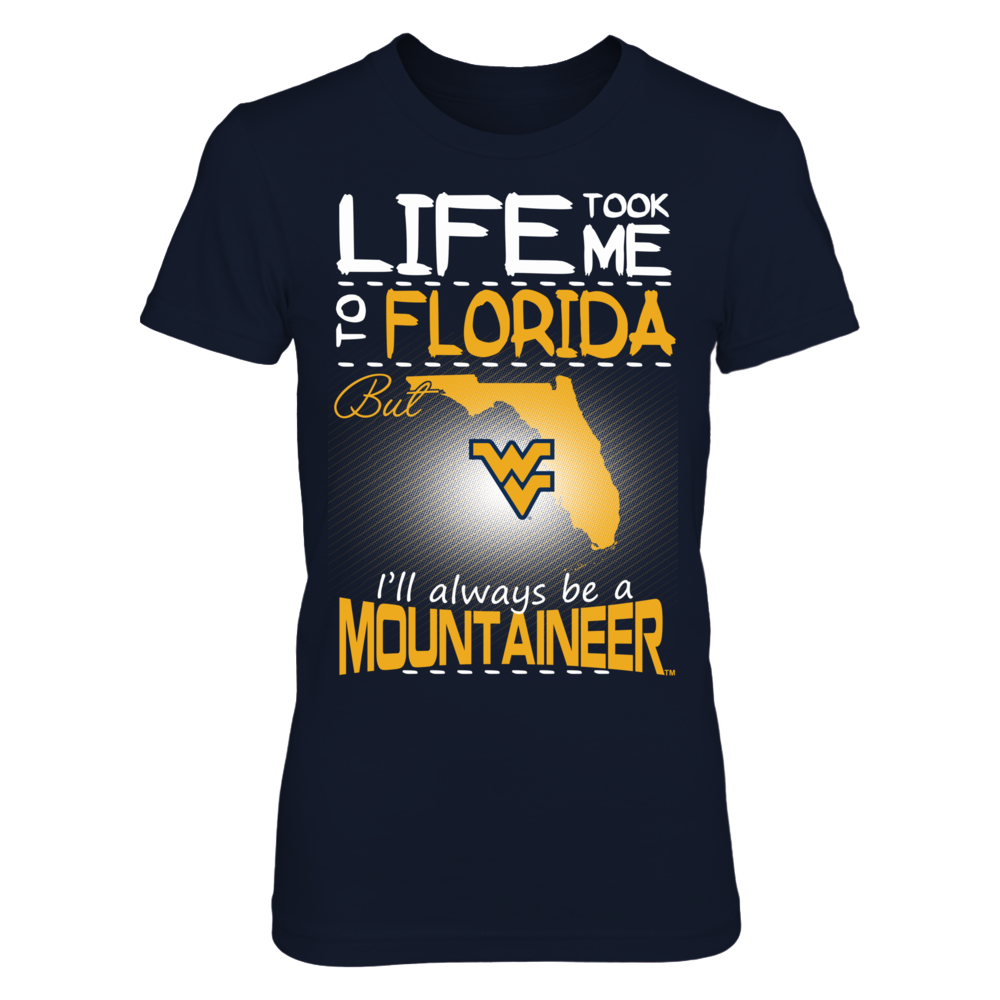 West Virginia Mountaineers - Life Took Me To Florida Front picture