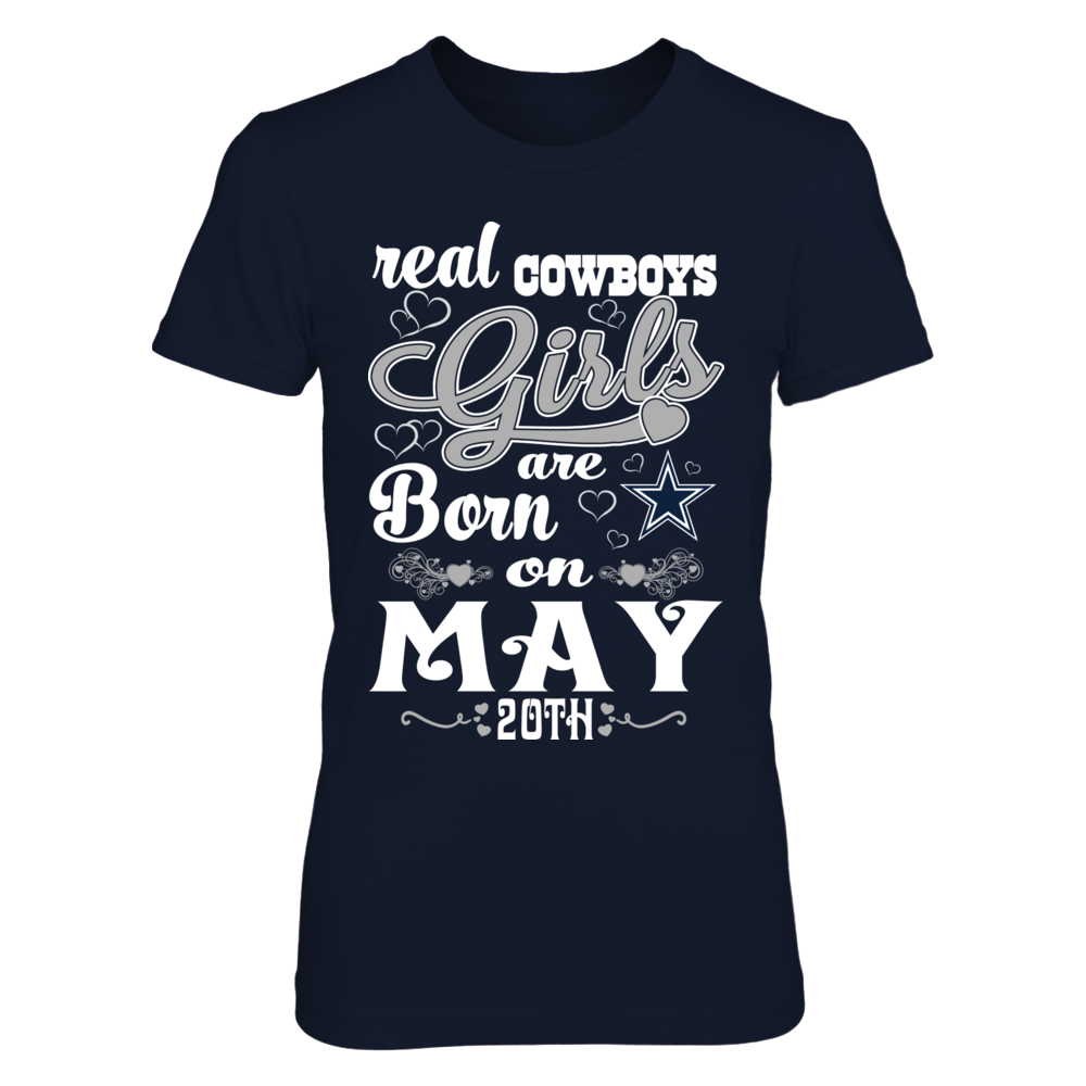 Real Cowboys Girl Are Born On May 20th Front picture