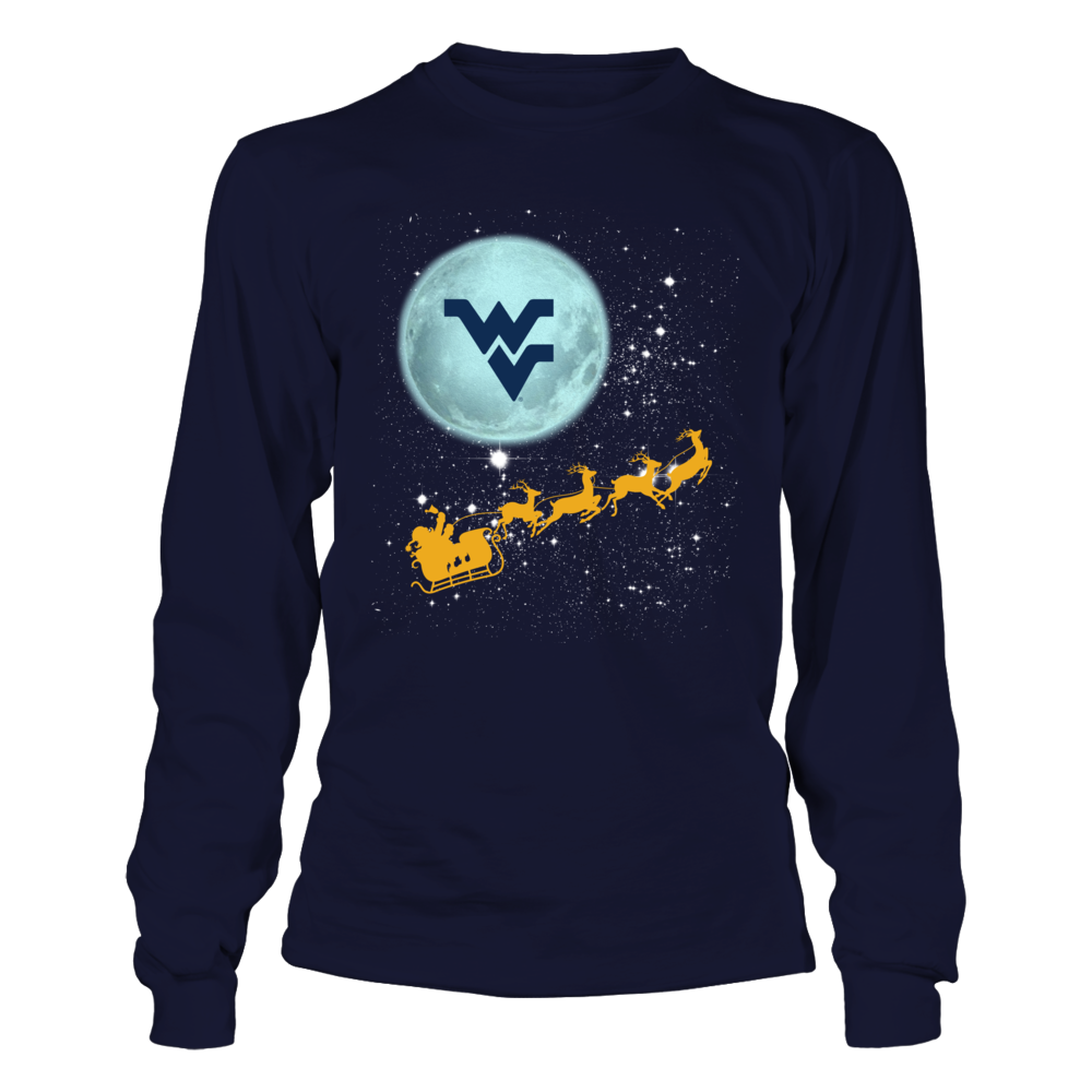 West Virginia Mountaineers - Football Sleigh Front picture