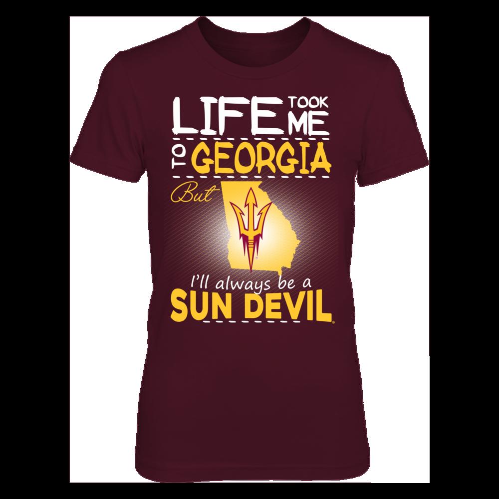 Arizona State Sun Devils - Life Took Me To Georgia Front picture