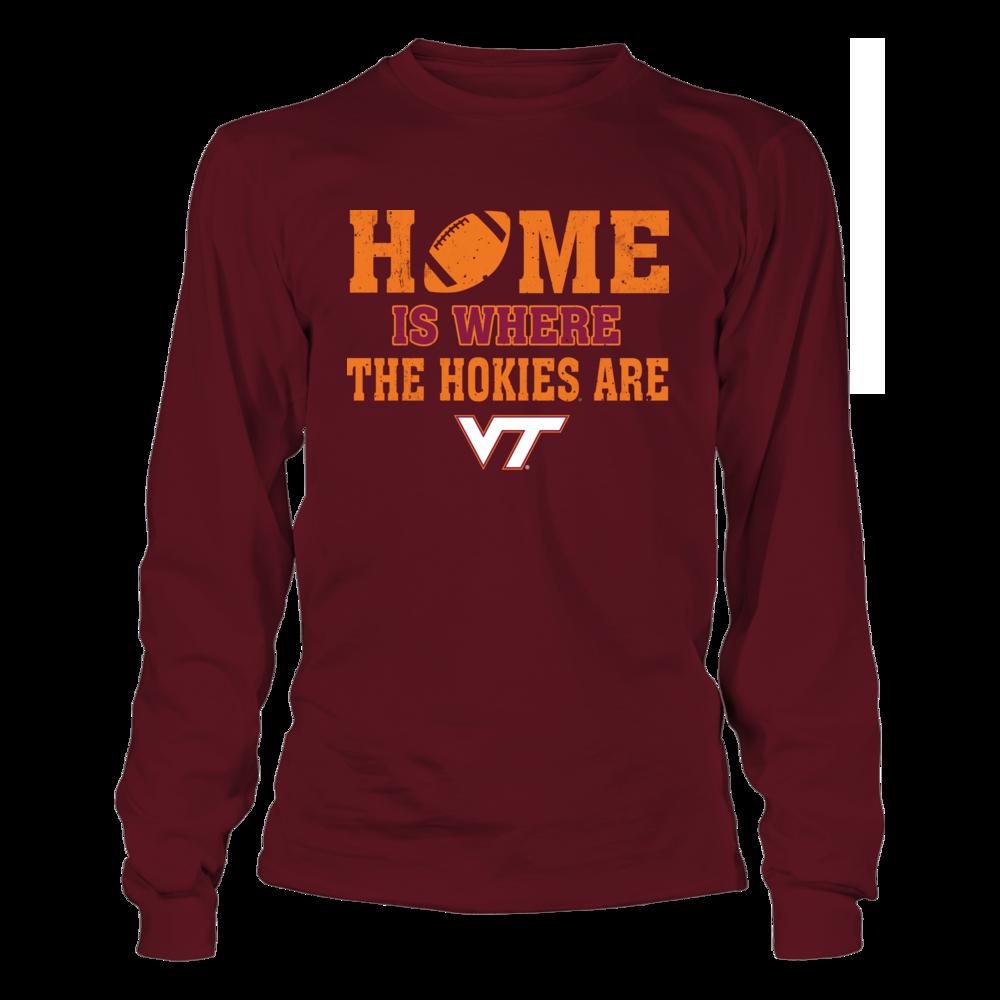 Virginia Tech Hokies - Home Is Where The Hokies Are Front picture