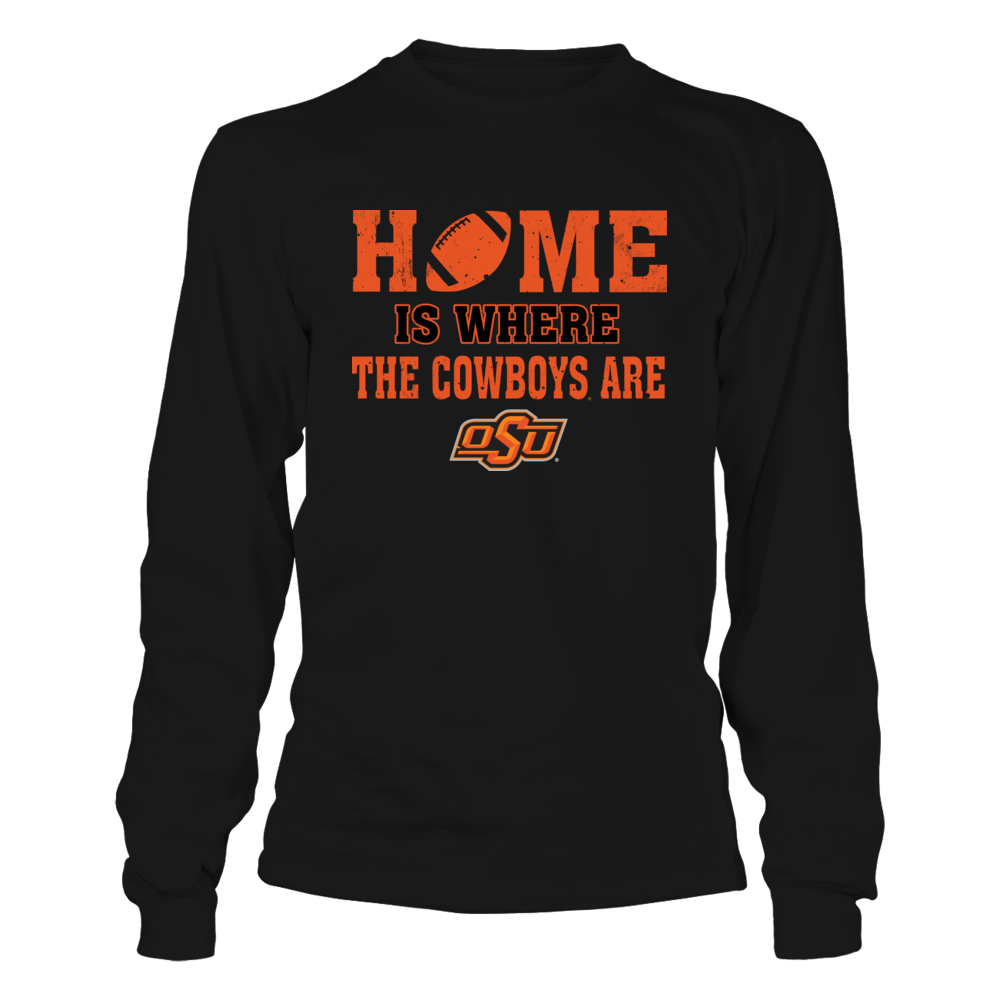 Oklahoma State Cowboys - Home Is Where The Cowboys Are Front picture
