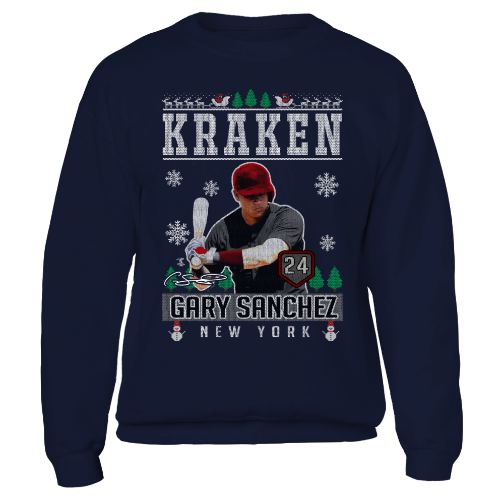 Gary Sanchez - Kraken - CHRISTMAS PLAYER Front picture