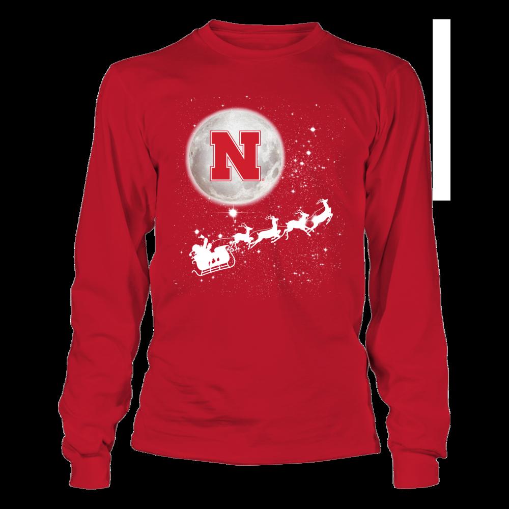 Nebraska Cornhuskers - Football Sleigh Front picture