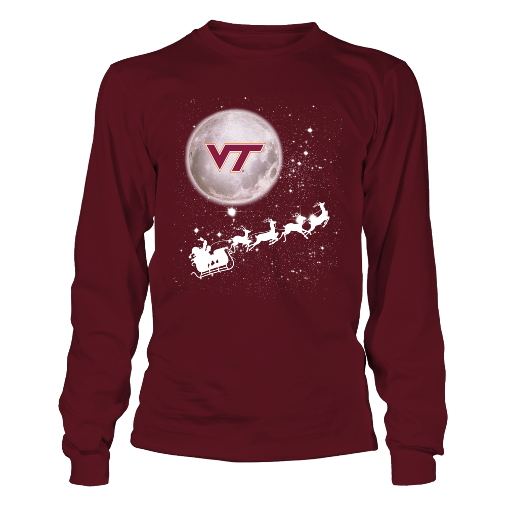 Virginia Tech Hokies - Football Sleigh Front picture