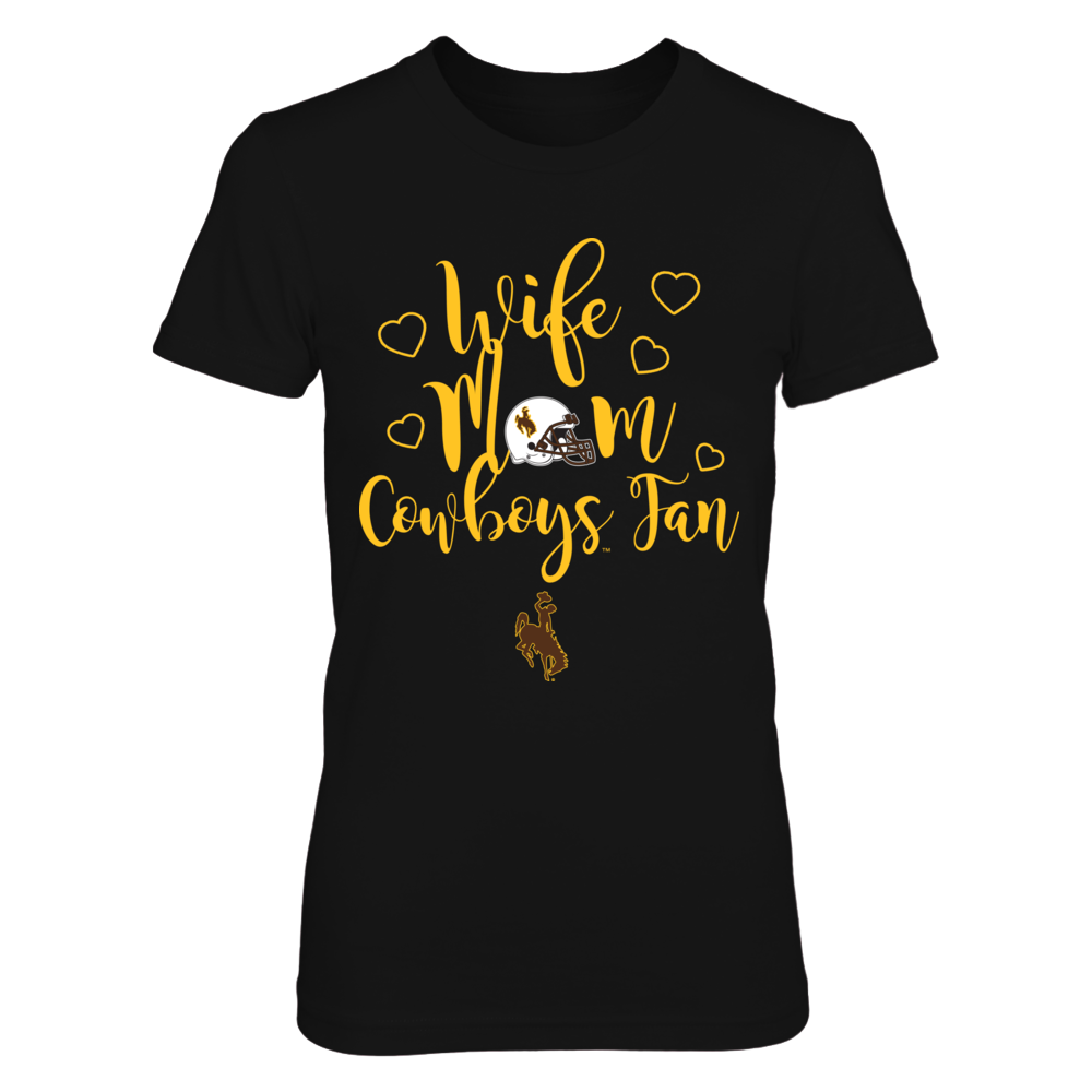 Wyoming Cowboys - Wife - Mom - Cowboys Fan Front picture