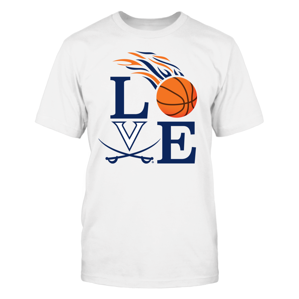 LOVE Virginia Cavaliers Basketball Front picture