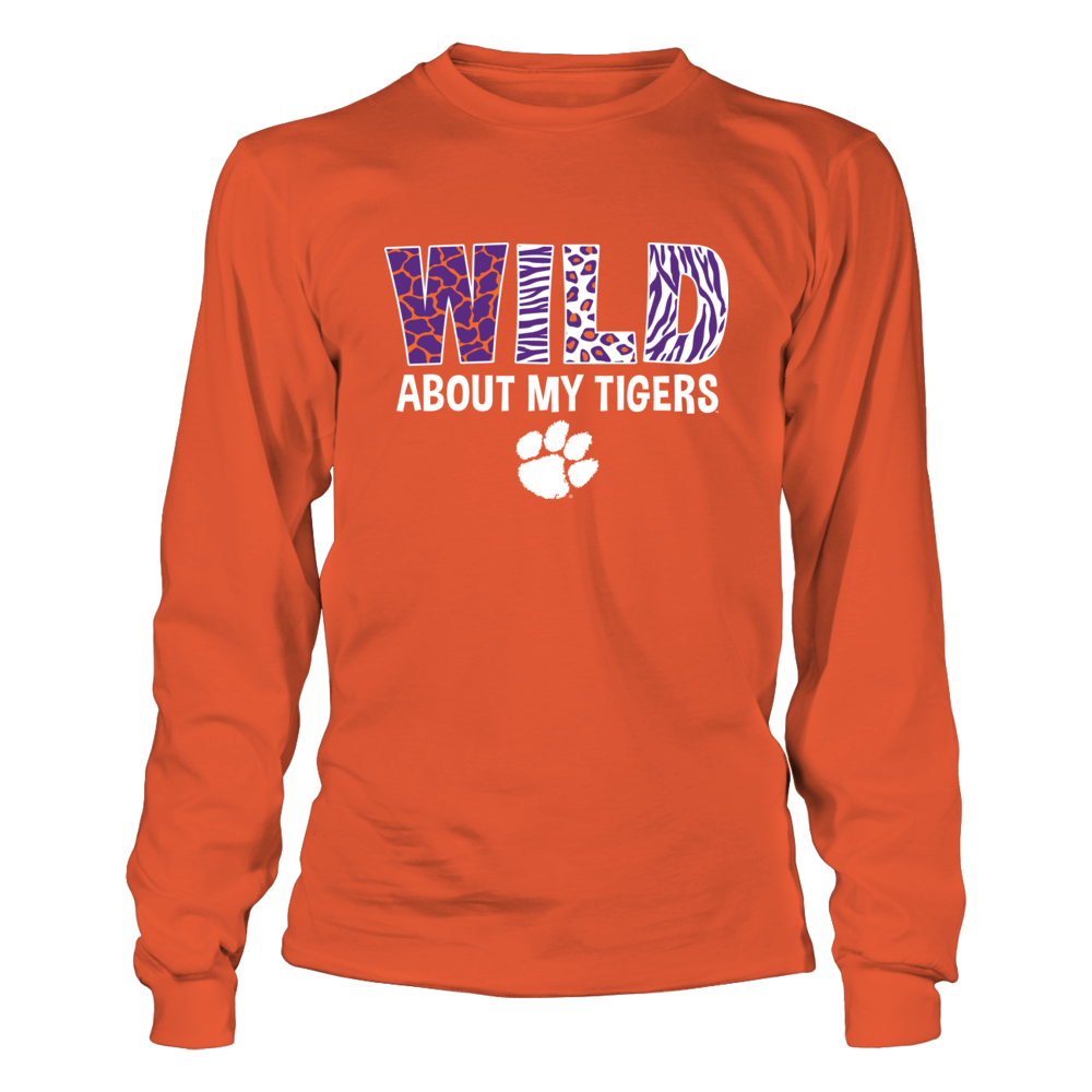 Clemson Tigers - Wild About My Tigers Front picture